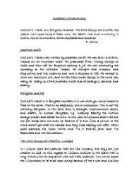 gullivers travels essay  alevel english  marked by teacherscom