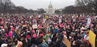 Resultado de imagem para Marcha das Mulheres Washington