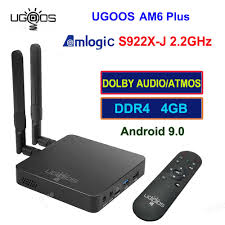 <b>UGOOS AM6 Plus</b> Amlogic S922X J 2.2Ghz Android 9 Tv Box IR ...