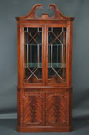 corner cabinets dining room: details about corner china cabinet or corner hutch for the dining room
