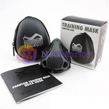 <b>Дыхательный тренажер Training Mask</b> Phantom Athletics Black ...