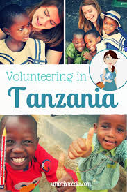 things to do after high school  thinking of volunteering as a teacher in tanzania here s an account of my wonderful