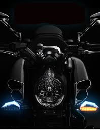 <b>Universal</b> Motorcycle 12 LED <b>Turn Signal Lights Blinker</b> Front Rear ...