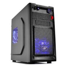 <b>Корпус Deepcool SMARTER</b> LED <b>black</b> mATX — купить в ...