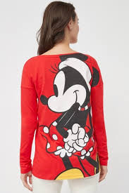 Buy Red Womens Matching Family Minnie Mouse™ Christmas Long ...