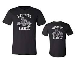 Westside barbell Premium Nitro T-Shirt - Black: Clothing - Amazon.com
