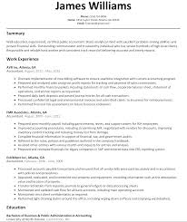 accountant resume sample com build a resume like this