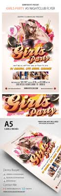 25 creative promotional flyers designs cssdive girls party nightclub psd flyer template