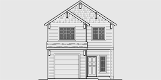Narrow Lot House Plans  Building Small Houses for Small Lots Narrow Lot House Plan  ft wide house plans  bedroom   bath