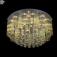 round champagne glass rod crystal lamps bedroom living room lights low voltage lights led ceiling cheap ceiling lighting
