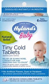 Hyland's Baby Tiny Cold Tablets, 125 ct - King Soopers