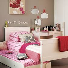 bedroom biege study twin kids study room