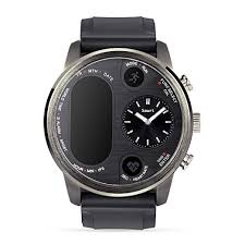 Amazon.com: Dual time IPS Smart Watch <b>Mens Heart Rate Monitor</b> ...
