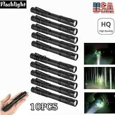 <b>Cree</b> XPE-R3 <b>LED</b> Flashlight Clip Portable <b>Pen</b> Light Torch Mini Lamp
