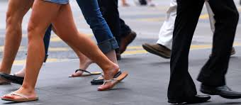 want to lower your risk of diabetes then walk to work group walking cropped