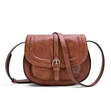Women Crossbody Satchel Bag Small Saddle Purse ... - Amazon.com