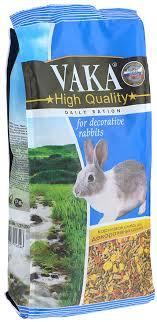 """Корм сухой <b>Вака</b> """"<b>High Quality</b>"""" для декоративных кроликов, 1 кг ..."""