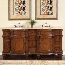 quot espresso wall mounted double bathroom