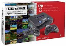 Купить <b>Игровая приставка SEGA</b> Genesis Modern + 170 игр + 2 ...