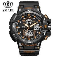 <b>SMAEL</b> Sport Watch <b>Men 2020</b> Clock <b>Male</b> LED Digital Quartz Wrist ...