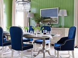 dining chairs green theme