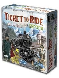 Ticket to Ride. Европа <b>Hobby World</b> 6130797 в интернет-магазине ...