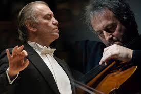 <b>Марио</b> Брунелло (виолончель) и Валерий Гергиев