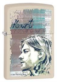 <b>Зажигалка Zippo Kurt Cobain</b> 29051 на ZIPPO-RUSSIA.RU