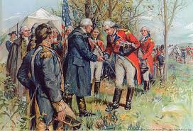 「the British General John Burgoyne at Saratoga」の画像検索結果