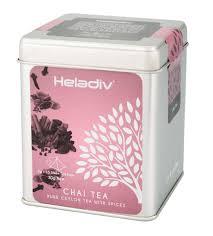Купить <b>Чай черный</b> TIN <b>CHAI TEA</b>, 80 г, <b>Heladiv</b> в Кофе.Ру с ...