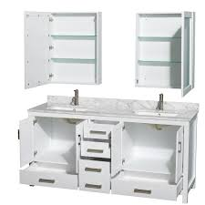 white double sink bathroom sheffield  inch double sink bath vanity white finish set