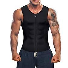 <b>Men</b> Waist Trainer Vest for Weight Loss Hot Neoprene <b>Corset</b> Body ...