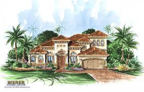 Mediterranean Style House Home Floor Plans   Find a Mediterranean    San Gabriel Home Plan Mediterranean House Plans