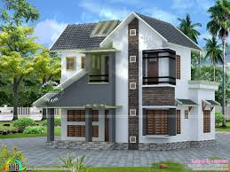 Slope roof low cost home design   Kerala home design and floor plansSlope roof low cost home design  Facilities of the house