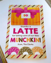 thanks a latte teacher appreciation gift idea printable thanks a latte for taking care of our munchkin teacher gift tag
