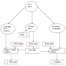 nutritional status of rural peoplenutritional status of rural people data flow diagram