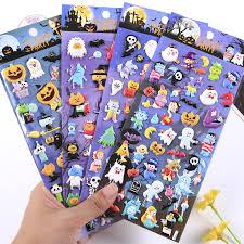 <b>Creative</b> funny <b>Halloween Pumpkin</b> Witch PVC <b>3D</b> Sticker ...