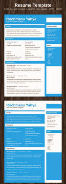 50 cv resumetemplate all result job clean one page resume
