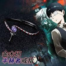 Anime Devil Satan <b>Ring S925</b> Sterling <b>Silver</b> Rings Demon Finger ...