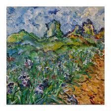Холст 30×30 Дорога цветов #399305 от rikart