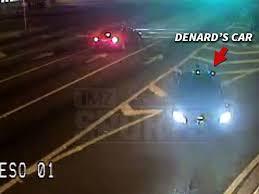 NFL's Denard Robinson: Video Shows Car Drifting Across Traffic ...
