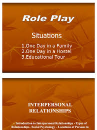 interpersonal relationship ppt