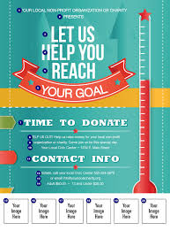 fundraiser flyer template teamtractemplate s fundraising thermometer logo flyer ticketprintingcom b5zqzmke
