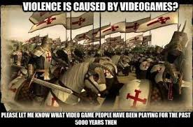 Top Violent Video Games Memes Images for Pinterest via Relatably.com