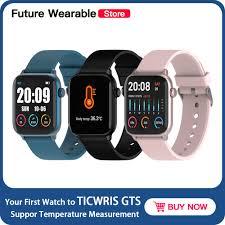 Original <b>TICWRIS GTS</b> Smart Watch Waterproof Message Reminder ...