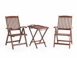 Tavolo Da Terrazzo In Legno : Set da balcone in legno tavolino con sedie ripiegabili toscana