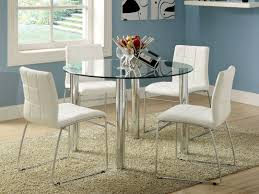 stylish brilliant dining room glass table:  brilliant contemporary elegant home dining room legged glass dining table and glass dining room sets
