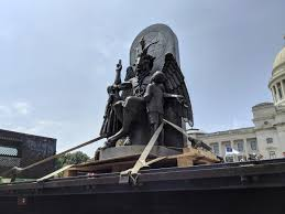 A <b>satanic goat</b> idol completes a 3-year journey to the Arkansas ...