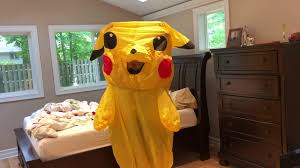 <b>Inflatable Pikachu</b> Costume Review and How To - YouTube