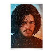 Плакат A3(29.7x42) Игра Престолов: <b>Джон Сноу</b> #1628607 от ...